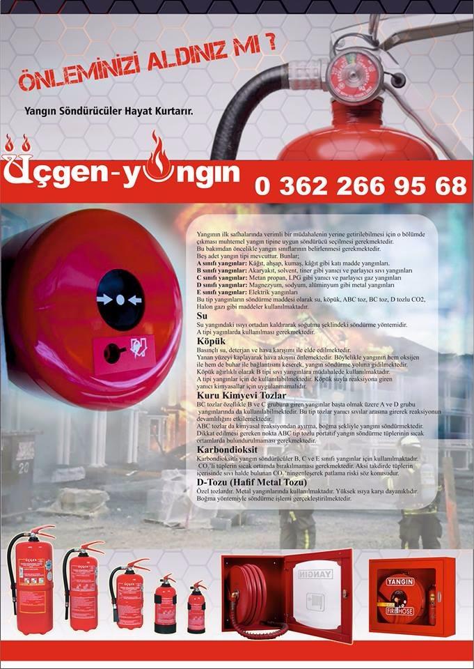 Samsun Yangın, Samsun İtfaiye, Samsun Yangın İhbar, Samsun Yangın Tüpü Dolumu, Samsun Yangın Cihazı Satışı, Samsun Yangın Güvenliği