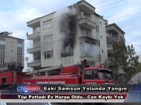 Samsun Yangın Patlaması, Samsun Yangın Tüpü, Samsun'da Patlama