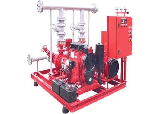 Yangın Algılama Sistemleri, Yangın Söndürme pompaları