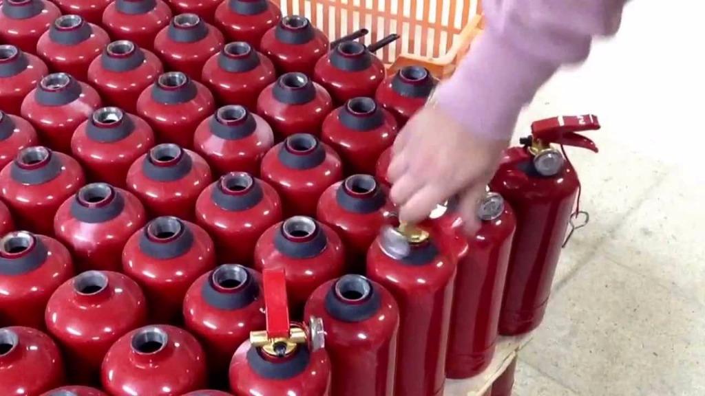 Yangın Tüpü Dolumu Ve Bakımı Hususunda Nelere Dikkat Etmeli